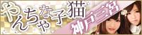 やんちゃな子猫神戸三宮店 200×50サイズバナー